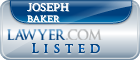 Joseph Baker Lawyer Badge