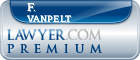 F. Richard VanPelt  Lawyer Badge