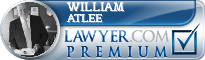 William A. Atlee  Lawyer Badge