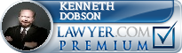 Kenneth P. Dobson  Lawyer Badge