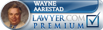 Wayne G Aarestad  Lawyer Badge