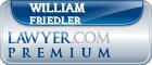 William N. Friedler  Lawyer Badge