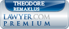 Theodore R. Remaklus  Lawyer Badge