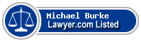Michael Burke Lawyer Badge