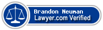 Brandon Neuman  Lawyer Badge