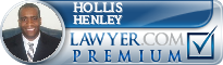 Hollis R. Henley  Lawyer Badge