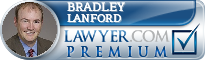 Bradley Lewis Lanford  Lawyer Badge