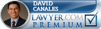 David A. Canales  Lawyer Badge