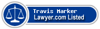 Travis Marker Lawyer Badge