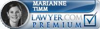 Marianne R. Timm  Lawyer Badge