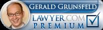 Gerry D. Grunsfeld  Lawyer Badge