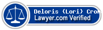 Deloris (Lori) King Cromartie  Lawyer Badge