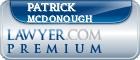Patrick J. McDonough  Lawyer Badge