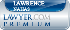 Lawrence J. Nahas  Lawyer Badge