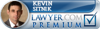 Kevin Hayne Sitnik  Lawyer Badge