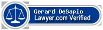 Gerard Robert DeSapio  Lawyer Badge