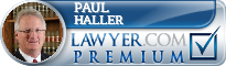 Paul H Haller  Lawyer Badge