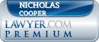 Nicholas A. Cooper  Lawyer Badge