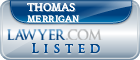 Thomas Merrigan Lawyer Badge