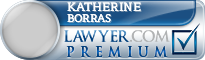 Katherine Lydia Borras  Lawyer Badge
