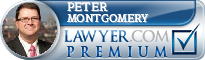 Peter E. Montgomery  Lawyer Badge