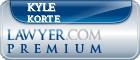 Kyle D. Korte  Lawyer Badge