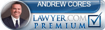 Andrew P. Cores  Lawyer Badge