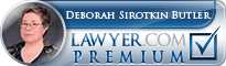 Deborah Sirotkin Butler  Lawyer Badge
