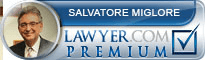 Salvatore C. Miglore  Lawyer Badge