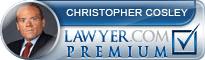 Christopher M Cosley  Lawyer Badge