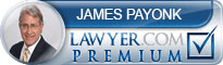 James A. Payonk  Lawyer Badge