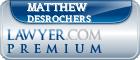 Matthew T Desrochers  Lawyer Badge
