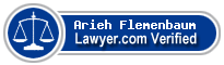 Arieh M. Flemenbaum  Lawyer Badge