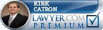 Kirk D Catron  Lawyer Badge