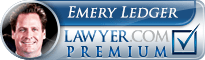 Emery Ledger Lawyer Badge