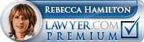 Rebecca Hamilton  Lawyer Badge