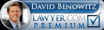 David Benowitz  Lawyer Badge