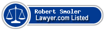Robert Smoler Lawyer Badge