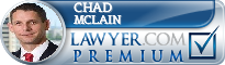 Chad McLain  Lawyer Badge