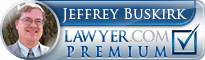 Jeffrey Eugene Buskirk  Lawyer Badge
