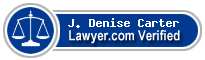 J. Denise Carter  Lawyer Badge