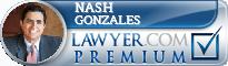 Nash Gonzales  Lawyer Badge