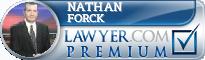Nathan Forck  Lawyer Badge