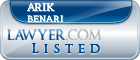 Arik Benari Lawyer Badge