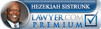 Hezekiah Sistrunk  Lawyer Badge