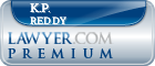 K.P. Reddy  Lawyer Badge