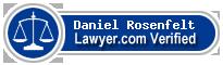 Daniel M Rosenfelt  Lawyer Badge
