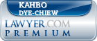 KahBo Dye-Chiew  Lawyer Badge