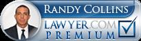 Randy Collins  Lawyer Badge