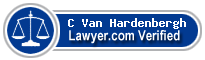 C Van Hardenbergh  Lawyer Badge